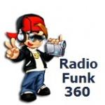 Logo da emissora Rádio Funk 360