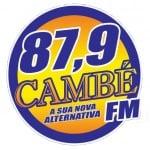 Logo da emissora R�dio Camb� 87.9 FM