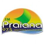 Logo da emissora R�dio Praiana 97.5 FM