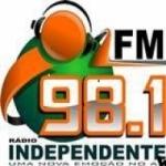 Logo da emissora Rádio Independente 98.1 FM