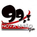 Logo da emissora Rádio Nova União 99.3 FM