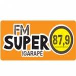 Logo da emissora Rádio FM Super 87.9 FM