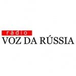 Logo da emissora Voz da Rússia 1090 AM