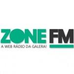 Logo da emissora Zone FM