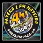 Logo da emissora Rádio Manteira 104.9 FM