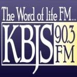 Logo da emissora KBJS 90.3 FM