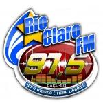 Logo da emissora Rádio Rio Claro 97.5 FM