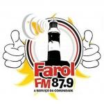 Logo da emissora R�dio Farol 87.9 FM