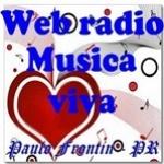 Logo da emissora Web Rádio Música Viva
