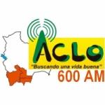 Logo da emissora Radio ACLO 600 AM