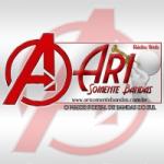 Logo da emissora Rádio Ari Somente Bandas