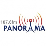 Logo da emissora R�dio Panorama 107.6 FM