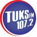 Logo da emissora Rádio Tuks 107.2 FM