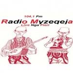Logo da emissora Radio Myzeqeja 104.1 FM