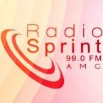 Logo da emissora Rádio Sprint 99.0 FM