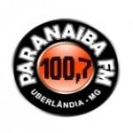 Logo da emissora Rádio Paranaiba 100.7 FM