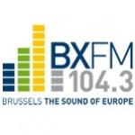 Logo da emissora Rádio BXFM 104.3 FM