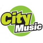 Logo da emissora Rádio City Music 102.7 FM