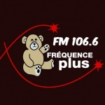 Logo da emissora Rádio Fréquence Plus 106.6 FM