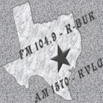Logo da emissora KBUK 104.9 FM