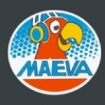Logo da emissora Rádio Maeva