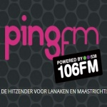 Logo da emissora Rádio Ping 106 FM