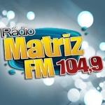 Logo da emissora Radio Matriz 104.9 FM