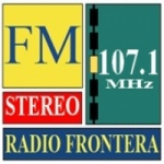 Logo da emissora Radio Frontera 107.1 FM