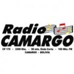 Logo da emissora Radio Camargo 100.1 FM