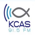 Logo da emissora KCAS 91.5 FM