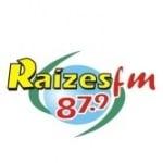Logo da emissora Rádio Raízes 87.9 FM