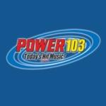 Logo da emissora KCDD 103.7 FM