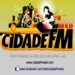 Logo da emissora R�dio Cidade FM Web