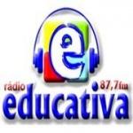 Logo da emissora Rádio Educativa 87 FM
