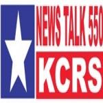 Logo da emissora KCRS 550 AM