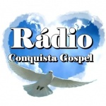 Logo da emissora Rádio Conquista Gospel