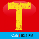 Logo da emissora Radio Tropicana 93.1 FM