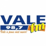 Logo da emissora Radio Vale FM 98.7