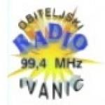 Logo da emissora Rádio Obiteljski Ivanic 99.4 FM