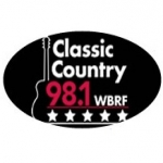 Logo da emissora WBRF 98.1 FM