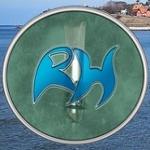 Logo da emissora Rádio Halsnaes 105.3 FM
