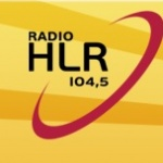 Logo da emissora R�dio HLR 104.5 FM