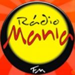 Logo da emissora Rádio Mania 92.5 FM