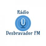 Logo da emissora Rádio Desbravador FM