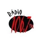 Logo da emissora Rádio 106.7 FM
