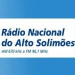 Logo da emissora Rádio Nacional do Alto Solimões 670 AM 96.1 FM