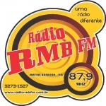 Logo da emissora Rádio RMB 87.9 FM