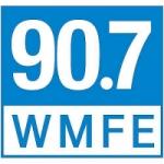 Logo da emissora Radio WMFE 90.7 FM