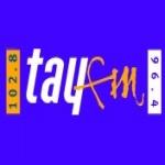 Logo da emissora Rádio Tay 102.8 FM