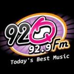 Logo da emissora WMFQ 92.9 FM